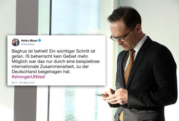 Maas-los schäbig: Heiko Maas und der IS