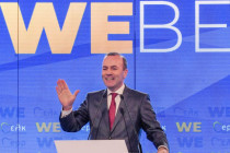 Weber wirbt um Stimmen, nicht gegen Nord Stream 2