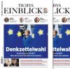 Tichys Einblick 06-2019: Denkzettelwahl