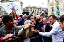 EU: Kundgebung der Souveränisten in Mailand