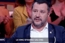 Salvini im TV: Schleuser in Libyen telefonieren mit NGO