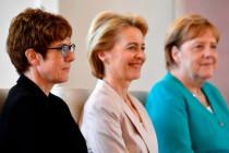 Merkel, von der Leyen, Kramp-Karrenbauer: Macht, Karriere, Leere.