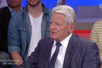 """Joachim Gauck bei Maischberger: Toleranz auch für """"Dunkeldeutschland""""?"""