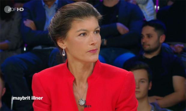 Bei Illner: Klima krank, Sahra Wagenknecht gesund und munter