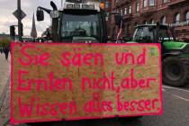 """Bauernproteste in Deutschland: """"Sie säen und ernten nicht, aber wissen alles besser"""""""