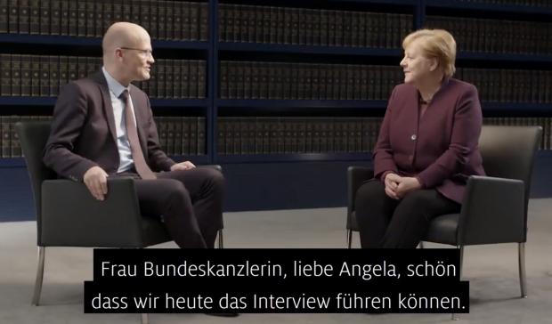 Brinkhaus interviewt Merkel: Auf ins Zeitalter nach GEZ (Rundfunksteuer)