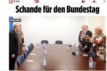 """BILD über Claudia Roth: """"Schande für den Bundestag"""""""