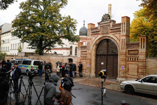 Anschlag Halle Synagoge