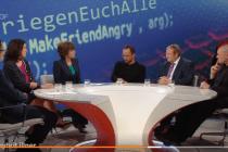 Bei Illner: Hetz' as hetz' can
