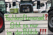 Weitere Bauernproteste:4000 Traktoren in Hamburg