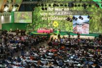 Tina Hassel beim Grünen-Parteitag: Applaus, Applaus für Robert Habeck
