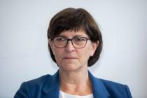 SPD mit Saskia Esken im freien Fall