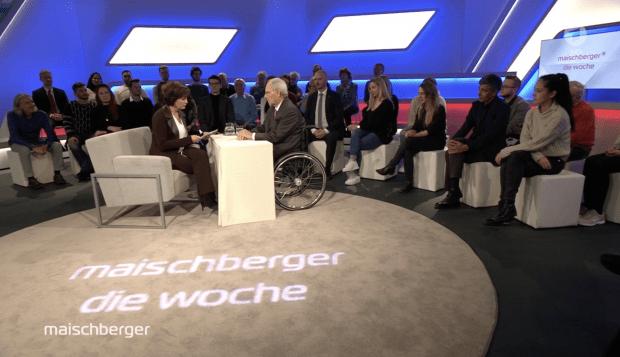 """Schäuble bei Maischberger: """"Dieses Land hat so furchtbar viele große Probleme"""""""