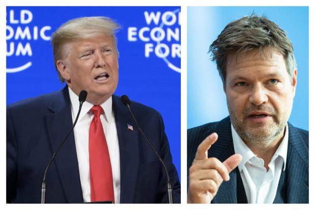 """Donald Trumps Rede in Davos und der """"Gigant"""" Habeck"""