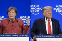Panik mit Merkel oder Hoffnung mit Trump? Die Davos-Botschaft