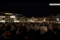 Trauerkundgebung in Hanau