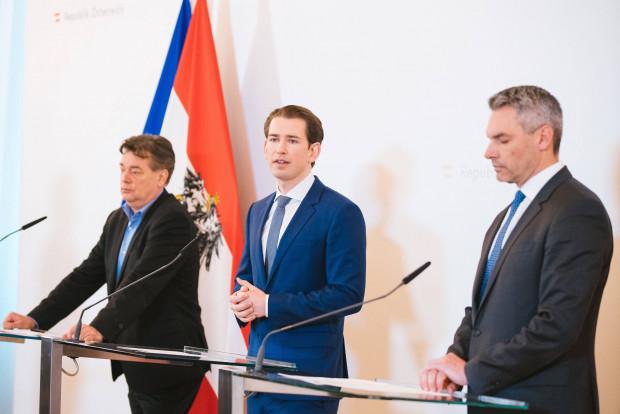 Medienbericht - Österreichs Kanzler Kurz warnt EU vor Flüchtlingsaufnahme