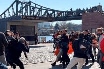 Linke Demonstranten verursachen Gesundheitsrisiko