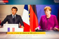 Macron triumphiert und Merkel führt den deutschen Steuerzahler zur Kasse