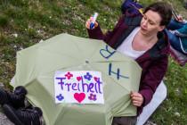 Leseraktion: So verliefen die Demonstrationen am Wochenende