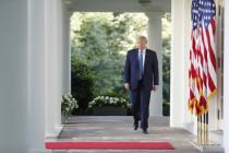 Trump tritt an, Leben und Eigentum der Amerikaner zu verteidigen