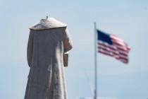 Bei 3sat »Kulturzeit« ist kriminelle Zerstörung von Statuen politische Kunst