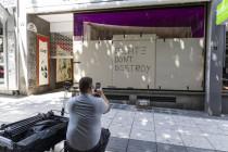 Stuttgarter Einzelhändler: Beim Rolexladen waren die Scheiben zu dick