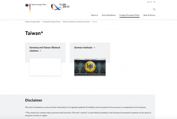 Der Kotau als Grundhaltung der deutschen Bundesregierung