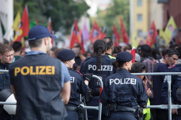 Kurdisch-türkische Unruhen in Wien