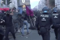 Im Schatten der Corona-Proteste – Linksextreme verletzen Polizisten