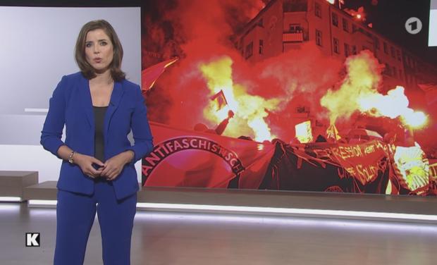 Brutaler Linksextremismus in Berlin: Jetzt wird es sogar der ARD zu viel