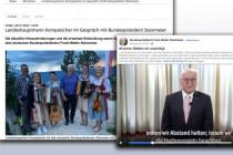 Bigott: Steinmeier ermahnt das Volk, während er im Urlaub Fünfe gerade sein lässt