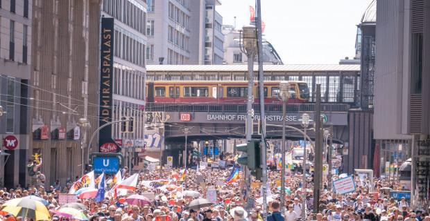 Corona-Demonstrationen: Wer, wie viele und was danach?