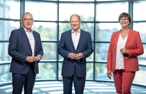 Olaf Scholz – der Kanzlerkandidat in engen Bandagen