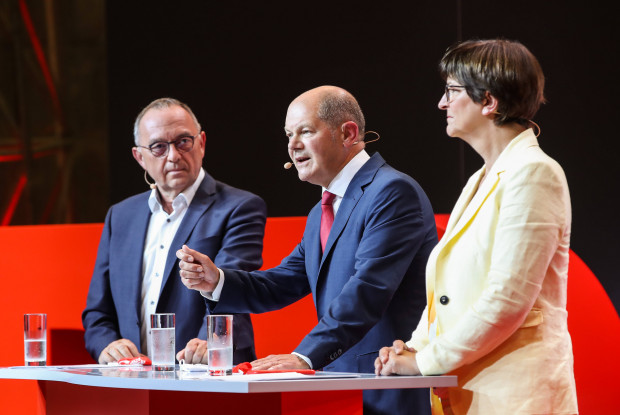 Die Scholz-Nominierung ist ein Akt sozialdemokratischer Verzweiflung