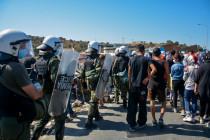 Maximale Polizeipräsenz und brodelnder Widerstand