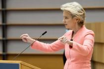Die deutsche Weltregentin Ursula von der Leyen