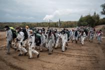 Neue Proteste in rheinischen Braunkohlerevieren