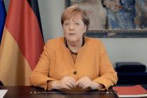 Merkel mit Doppel-Podcast und Einfachstbotschaft