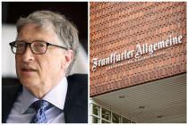 Bill Gates, der Impfstoff und die FAZ