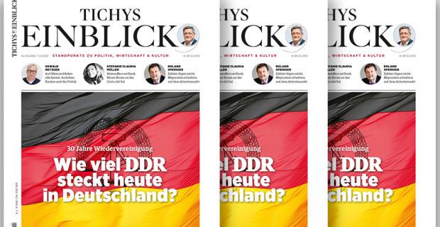 Tichys Einblick 11-2020: Wieviel DDR steckt heute in Deutschland?