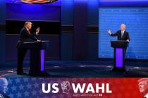 Präsidentschaftsdebatte: Erstmals Korruptionsaffäre um Biden auf dem Tisch
