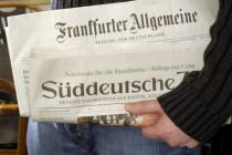 Frankfurter Allgemeine und Süddeutsche: Der parallele Niedergang der Leitmedien