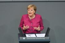 """Merkel und """"wir"""": Über die Sprache der Bundeskanzlerin"""