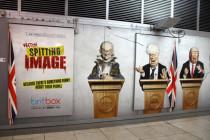 Satire satt: Spitting Image geht wieder auf Sendung