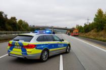 Wieder Abseilaktionen und Autobahnblockaden in Hessen