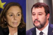 Die italienische Innenministerin rudert zurück und Salvini punktet in Frankreich