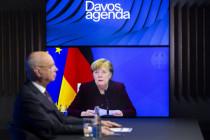 Merkel in der großen weiten Welt