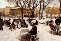 Madrids wunderbar chaotisches Schnee-Management