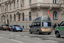 "Auto-Demonstranten in München fordern: ""Stoppt Söder"""